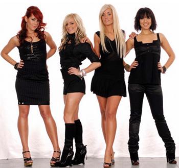 Jada Girls at Photo Shoot in Black Dresses